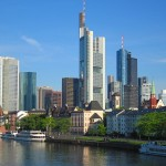 Frankfurt: Skyline as seen from the Main River